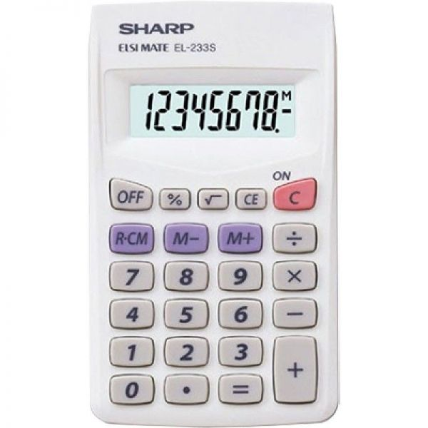 Calculators POCKET CALCULATOR SHARP 8 DIGITS|armenius.com.cy