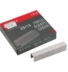 STANDARD STAPLES SDI 23/15 1000 PCS BOX | armenius.com.cy
