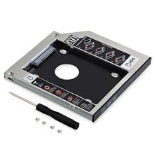 LogiLink HDD caddy for 9.5 mm Universal CD/DVD-ROM |