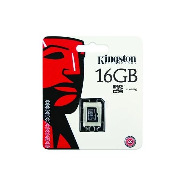 SD Memory Card Kingston Canvas Micro SD card 16GB - 10