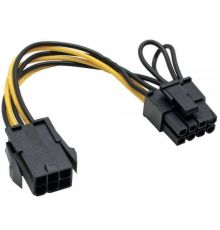 PCI express Adapter 6 Pin to 8 Pin | armenius.com.cy