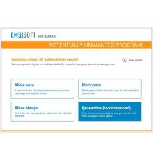 Security Emsisoft Anti-malware Home / 1 Year / 1