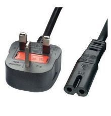 Cables Power Cord 2 prong UK 3 pin 1.5 m|armenius.com.cy