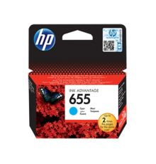 Ink cartridge HP 655 Original Ink Cartridge Cyan
