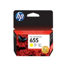 Ink cartridge HP 655 Original Ink Cartridge Yellow