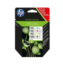 Ink cartridge HP 950XL/951XL 4-pack original ink|armenius.com.cy