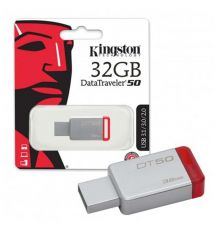 USB Flash Drive Kingston DataTraveler 50 32GB|armenius.com.cy
